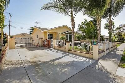 Anaheim Single Family Home For Sale: 1240 E Turin Avenue E