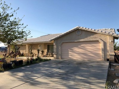 Hesperia Single Family Home For Sale: 17530 Willow Street