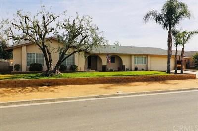 Jurupa Single Family Home For Sale: 11085 Gemini Court