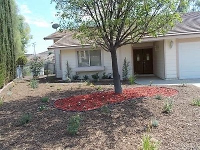 Canyon Lake Single Family Home For Sale: 22961 Sierra Trail
