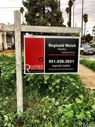 Riverside Residential Lots & Land For Sale: 2758 E Iris Street
