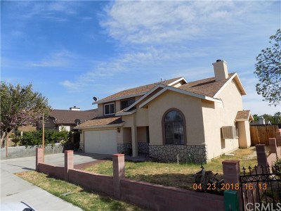 Perris Single Family Home For Sale: 1323 Mount Diablo Street