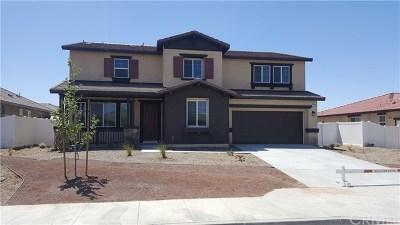 Moreno Valley Single Family Home For Sale: 27801 Brodiaea Avenue