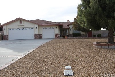 Hesperia Single Family Home For Sale: 7126 Amanda Way