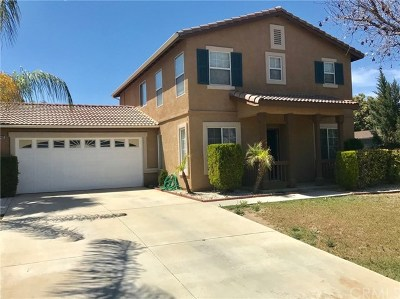 Moreno Valley Single Family Home For Sale: 15405 Bello Way