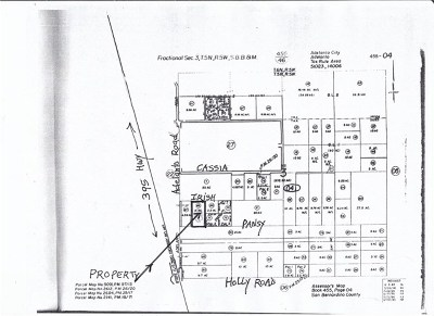 Adelanto CA Residential Lots & Land For Sale: $390,000
