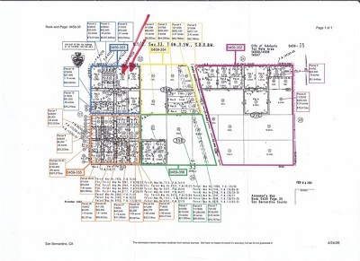 Adelanto CA Residential Lots & Land For Sale: $550,000
