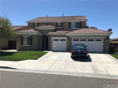 San Jacinto Single Family Home For Sale: 3064 Crooked Branch Way