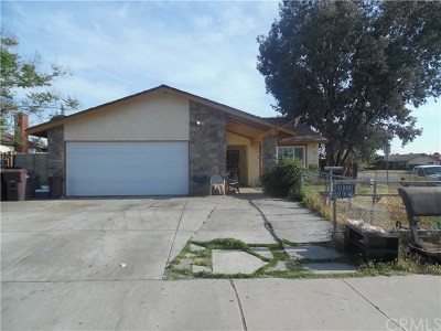 Moreno Valley CA Single Family Home For Sale: $309,900
