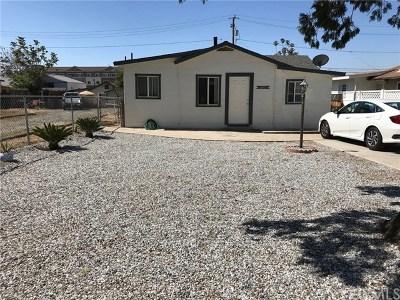 Yucaipa Single Family Home For Sale: 34931 Acacia Avenue