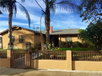 Pomona Single Family Home For Sale: 827 E La Verne Avenue