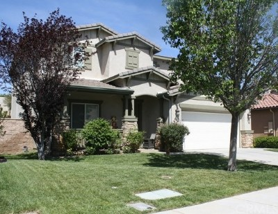 Winchester Single Family Home For Sale: 36275 Tahoe Street