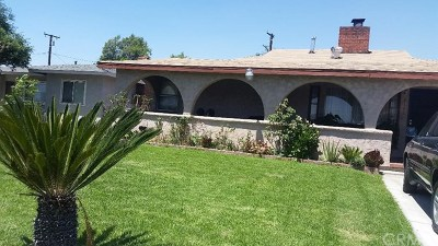 Rancho Cucamonga Single Family Home For Sale: 8168 Arrow