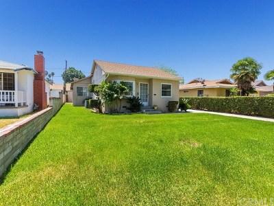 Riverside Single Family Home For Sale: 4258 Gardena Drive