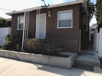San Pedro Single Family Home For Sale: 109 S La Alameda Avenue