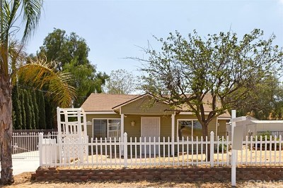 Riverside CA Single Family Home For Sale: $325,000