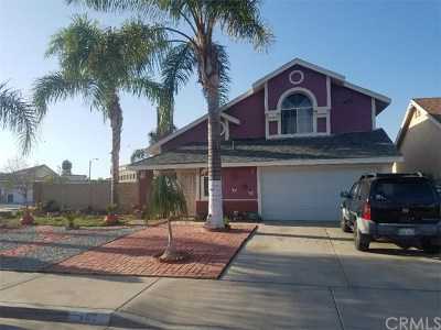 Perris Single Family Home For Sale: 102 Evergreen Place