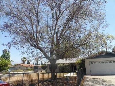 Loma Linda Single Family Home For Sale: 10721 Coloma Street