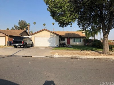 Redlands Single Family Home For Sale: 1563 Robyn Street