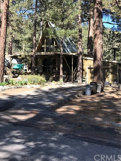 Wrightwood Single Family Home For Sale: 6122 Cardinal Road