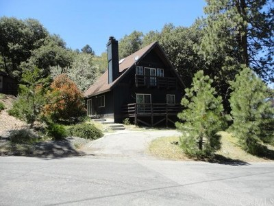 Wrightwood Single Family Home For Sale: 5780 Acorn Drive