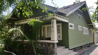 Pomona Single Family Home For Sale: 975 Bradford Street