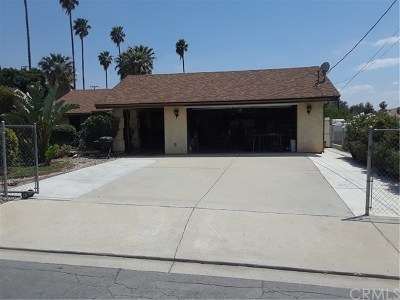San Bernardino CA Single Family Home For Sale: $285,000