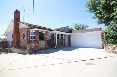 Beaumont Single Family Home For Sale: 1182 Magnolia Avenue