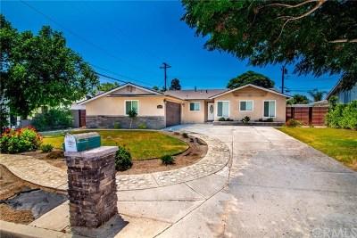 Rancho Cucamonga Single Family Home For Sale: 10279 Effen Street