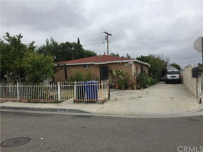 Hawaiian Gardens Multi Family Home For Sale: 22428 Devlin Avenue
