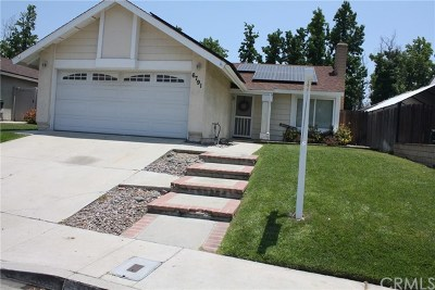 Rancho Cucamonga Single Family Home Active Under Contract: 6791 Lotus Court
