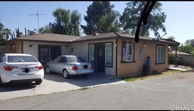 Riverside Single Family Home For Sale: 6300 Etiwanda Avenue