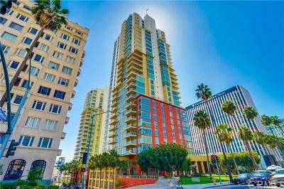 Long Beach Condo/Townhouse For Sale: 400 W Ocean Boulevard #2103