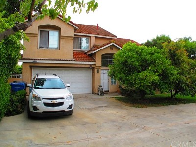 Pomona Single Family Home For Sale: 1530 Balsam Drive