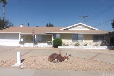 Sun City Single Family Home For Sale: 28913 Murrieta Road
