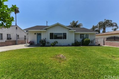Chino Single Family Home For Sale: 4929 Taft Street