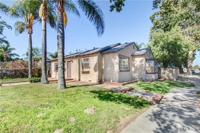 Chino Single Family Home For Sale: 12985 12th Street