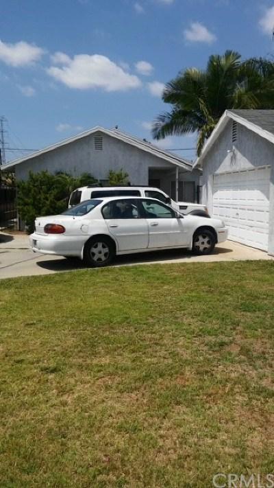 Bellflower Single Family Home For Sale: 8713 Dunbar