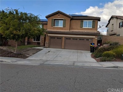Lake Elsinore Single Family Home For Sale: 40975 Bankhall Street