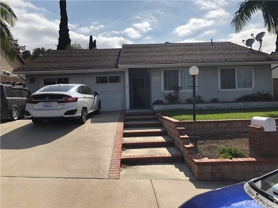 Rowland Heights Single Family Home For Sale: 2931 Blandford Drive