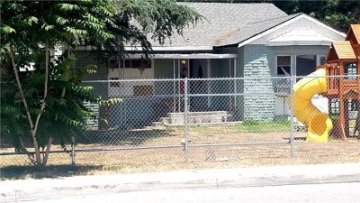 San Bernardino CA Single Family Home For Sale: $250,000