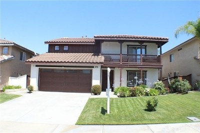 Moreno Valley Single Family Home For Sale: 15714 Vista Del Mar Street