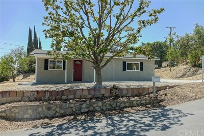 Redlands Single Family Home For Sale: 31198 Knoll Drive