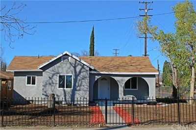 San Bernardino Single Family Home For Sale: 1296 Sepulveda Avenue