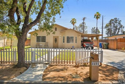 Riverside Single Family Home For Sale: 3271 Tangerine Way