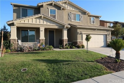 Perris Single Family Home For Sale: 1101 Viscano Court