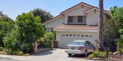 Duarte Single Family Home For Sale: 2580 Starcrest Drive