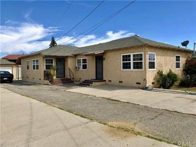 Fontana Multi Family Home For Sale: 9181 Fontana Avenue