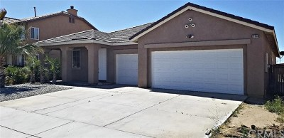 Victorville CA Single Family Home For Sale: $279,900