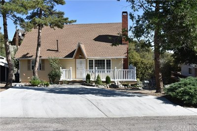 Wrightwood Single Family Home For Sale: 5324 Desert View Drive